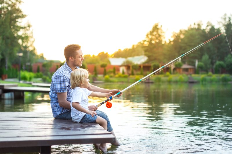 Take a look at all of the great places to fish in Galveston County