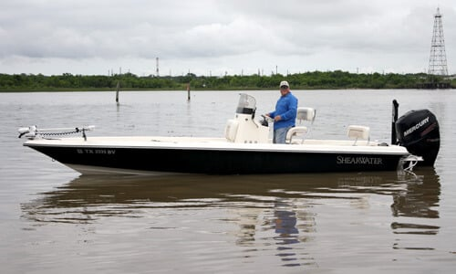 Galveston Fishing Charters - ShearWater Bay Boat