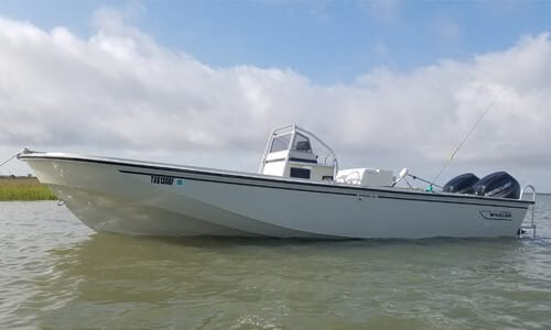 Galveston Fishing Charters - Boaston Whaler Boat